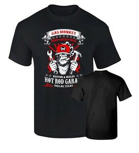 Camiseta-GAS-MONKEY-GARAGE-HOT-ROD-CALIDAD-190-ENVIO-URGENTE-72-HORAS-LABORALES