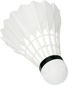 3er Set Professional mid Badminton Bälle Badmintonbälle Federball weiß Sunflex