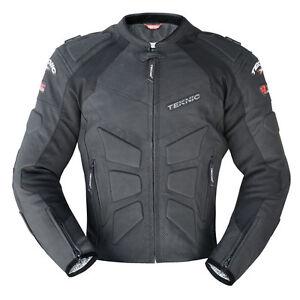 Teknic Mercury Summer Perforated Leather Jacket Motorbike