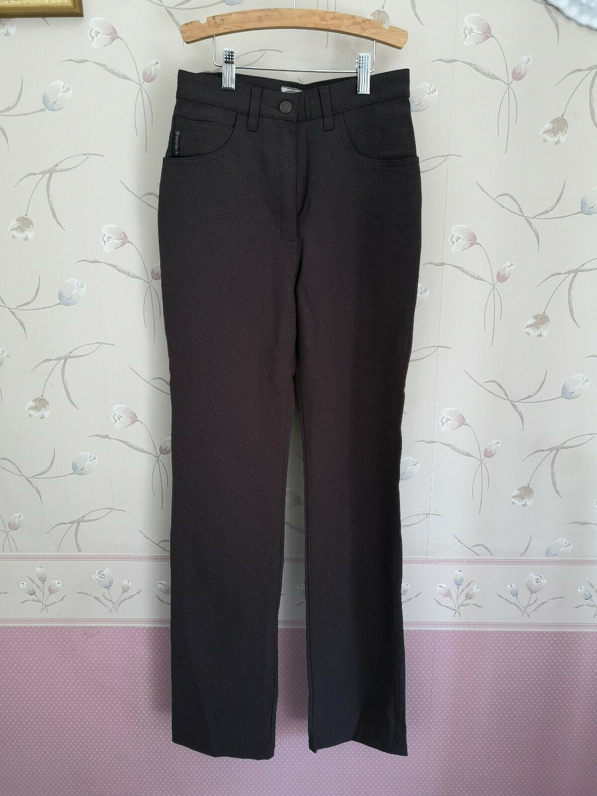 New Authentic Womens Armani Jeans Eco-Wash Brown pants Size 26