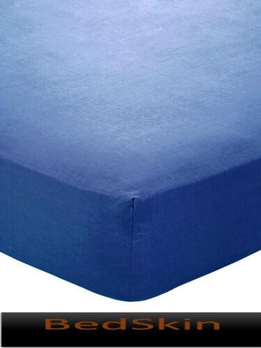 Hochwertige Spannbettlaken Jersey 2er Pack 100/% Baumwolle 90x200 140x200 180x200
