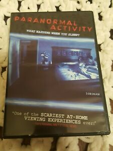Paranormal Activity DVD -Widescreen -Region 1 -Incl