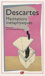 Meditations-metaphysiques-de-Rene-Descartes-Livre-etat-bon
