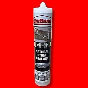 Unibond Natural Stone Silicone Sealant Translucent