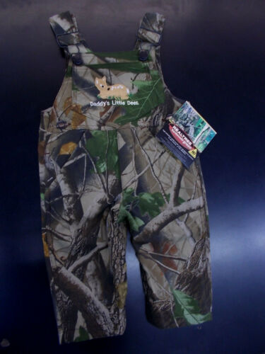"4T Infant /& Toddler Realtree /""Daddys Little Deer/"" Camouflage Overalls Sz 3mo"