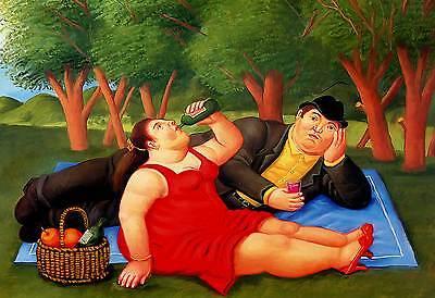 26  cm 35x50 Affiche Cartel Kunstplakat papiarte Poster Botero cod