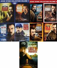 Jesse Stone . Complete Collection . 1 2 3 4 5 6 7 8 9 . Tom Selleck . 5 DVD NEU