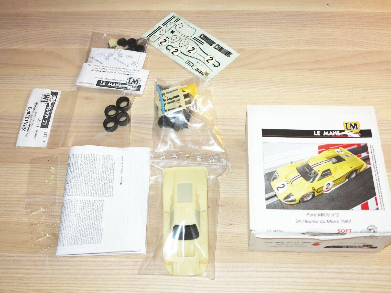 Ven a elegir tu propio estilo deportivo. Lm Le Le Le Mans Miniaturas Ford Mkiv 1967 1  3 2 Coche Slot  para barato
