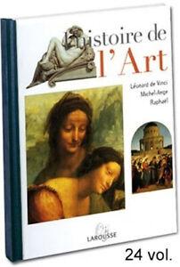 Histoire de l'art, 24 volumes