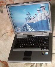 "DELL Latitude D505 Windows XP Pro Office 2010 Pro Wi-Fi G DVD 15"" LCD Laptop"