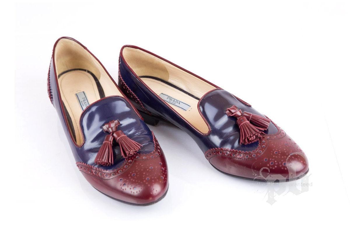 Prada Winspits  Leather scarpe Dimensione 39.5 EU  ordinare on-line