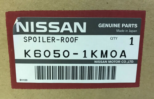 NEW NISSAN OEM FACTORY JUKE SPOILER IN BOX ATOMIC GOLD K6050-1KM0A 999J1-6XEAH
