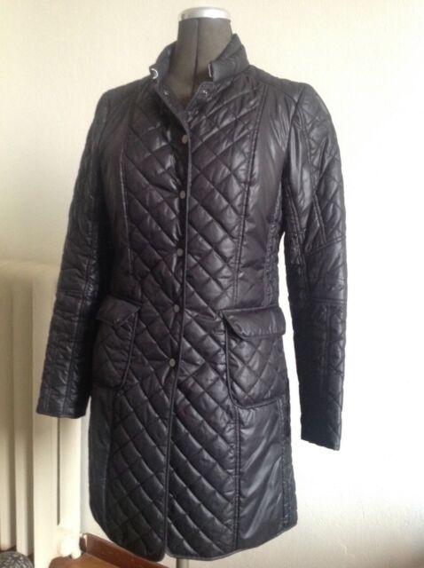 Zara Woman Damen Jacke giacca Übergangsjacke wattiert schwarz Gr. M