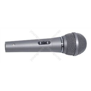 "Plug 600 Ohm Uni-Directional Desk microphone 1//4/"" 3.5mm"