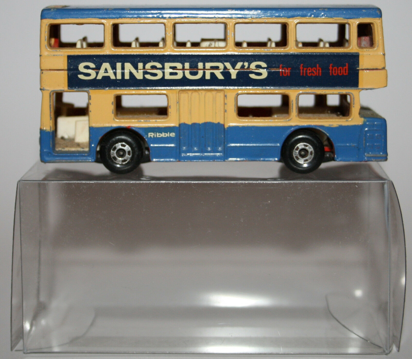 MATCHBOX n. Lesney Superfast n. MATCHBOX 17-b the londinese Daimler Bus d0fc00