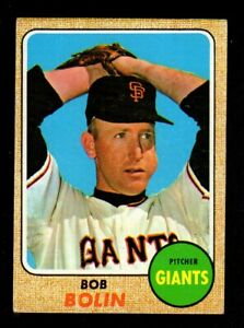 1968-Topps-169-Bob-Bolin-San-Francisco-Giants-Vintage-Baseball-Card-EX