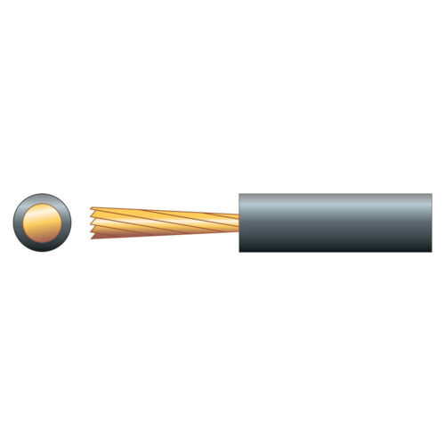 Mercury Loop Cable 1.5MM² Black Pure Copper single core cable for loop amplifier