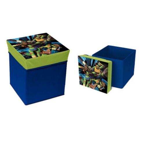 TMNT Spielzeugkiste Sitzhocker teenage mutant ninja turtles storage box stool