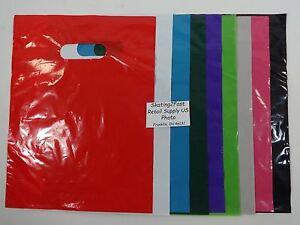 9-034-x-12-034-Low-Density-Glossy-Merchandise-Retail-Bags-Variety-of-Colors-amp-Qty