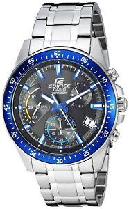 Casio-Men-039-s-Edifice-Quartz-Stainless-Steel-Casual-Watch-EFV-540D-1A2V