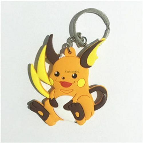 Multi Style Pokemon Key Chain Keychains Pikachu Free Shipping New