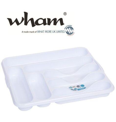 Wham ® 12526 XXL cubiertos recuadro blanco cubiertos uso uso cajones cubiertos cesta