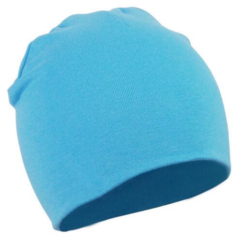 Unisex Baby Cap Beanie Boy Girl Toddler Infant Children Cotton Soft Cute Hat UK