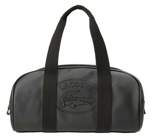 New para Classic Negro Roll Boston mujer Lacoste Bag Classic 1PdwPCq