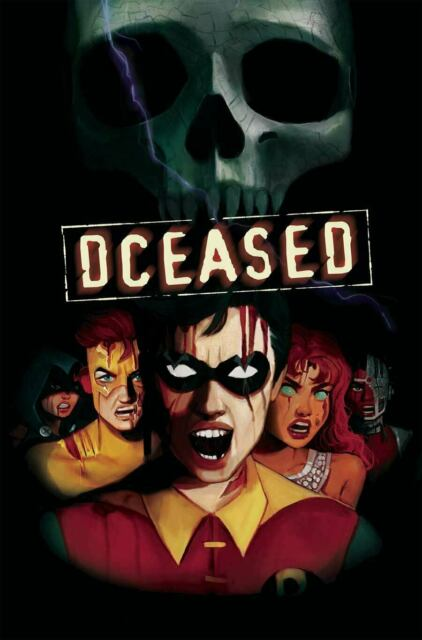 DCeased #4 Horror Variant Final Destination Homage DC Comic 1st Print 2019 NM