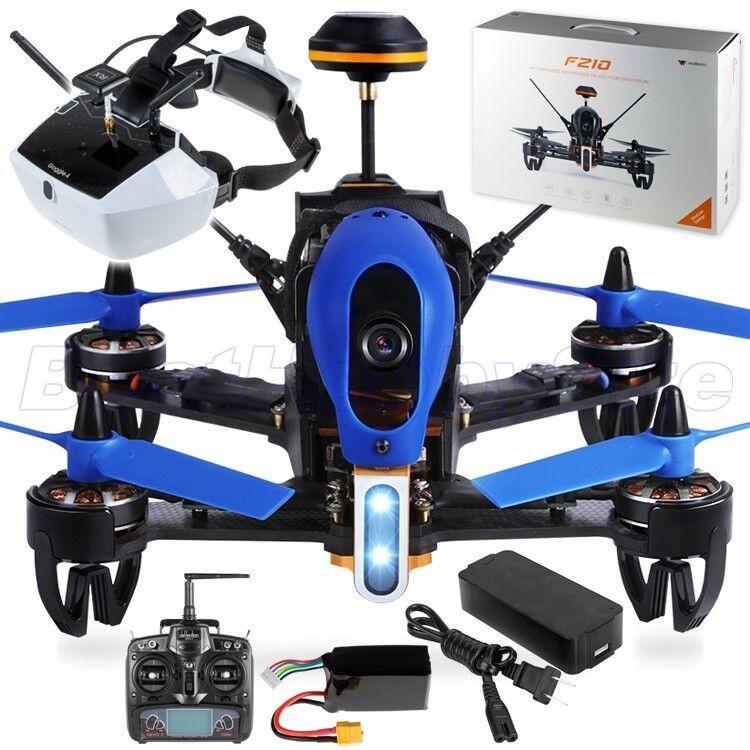 WALKERA F210 3D FPV Goggle4 Racing Drone Quad HD 5.8G OSD DEVO7 RTF