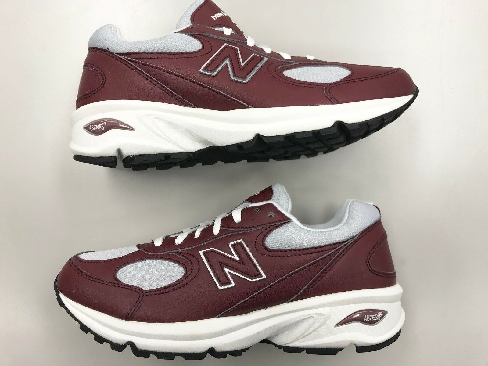 Brand New Homme New Balance M498 FFA Burgundy Leather running  walking  chaussures  0 9 7