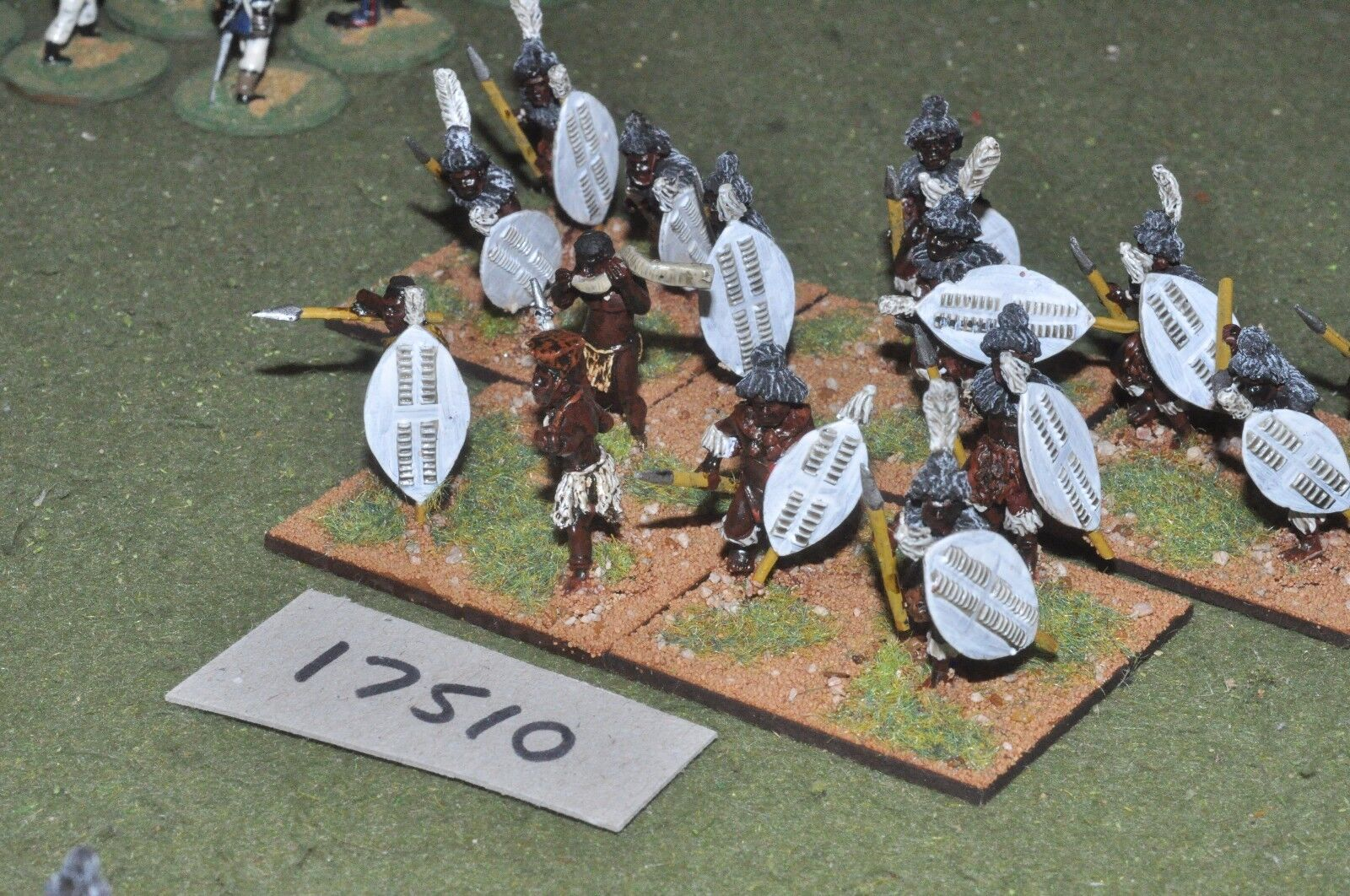 25mm Colonial Zulu-Africana hombres 15 higos-INF (17510)
