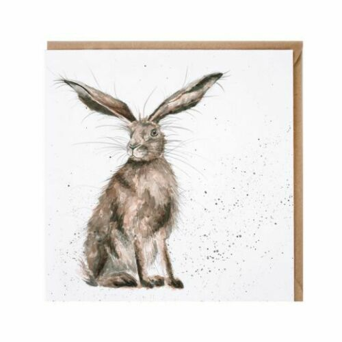"Wrendale Designs /""BONNE Hare DAY/"" CARTE"