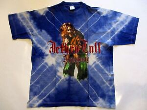 Jethro-Tull-Tour-Concert-T-Shirt-25th-Anniversary-Tour-1993-Aqualung-Groesse-XL
