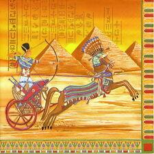 4x Paper Napkins for Decoupage Decopatch Craft Ancient Egypt