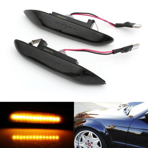 Sequential LED Side Marker Smoke Turn Signal for BMW E90 E91 E92 E60 E87 E82 E46
