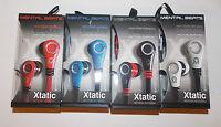 Mental Beats Xtantic Earbuds Cell Phone Earphones Microphone Pick Color