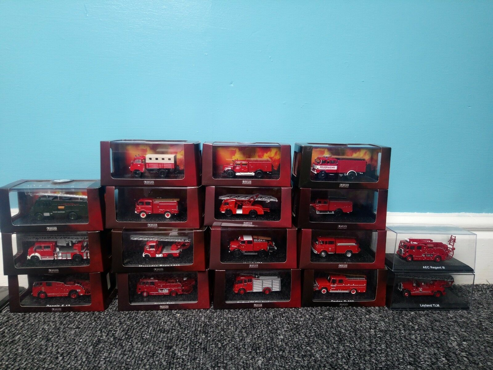 Collectable fire engines, edition atlas collection