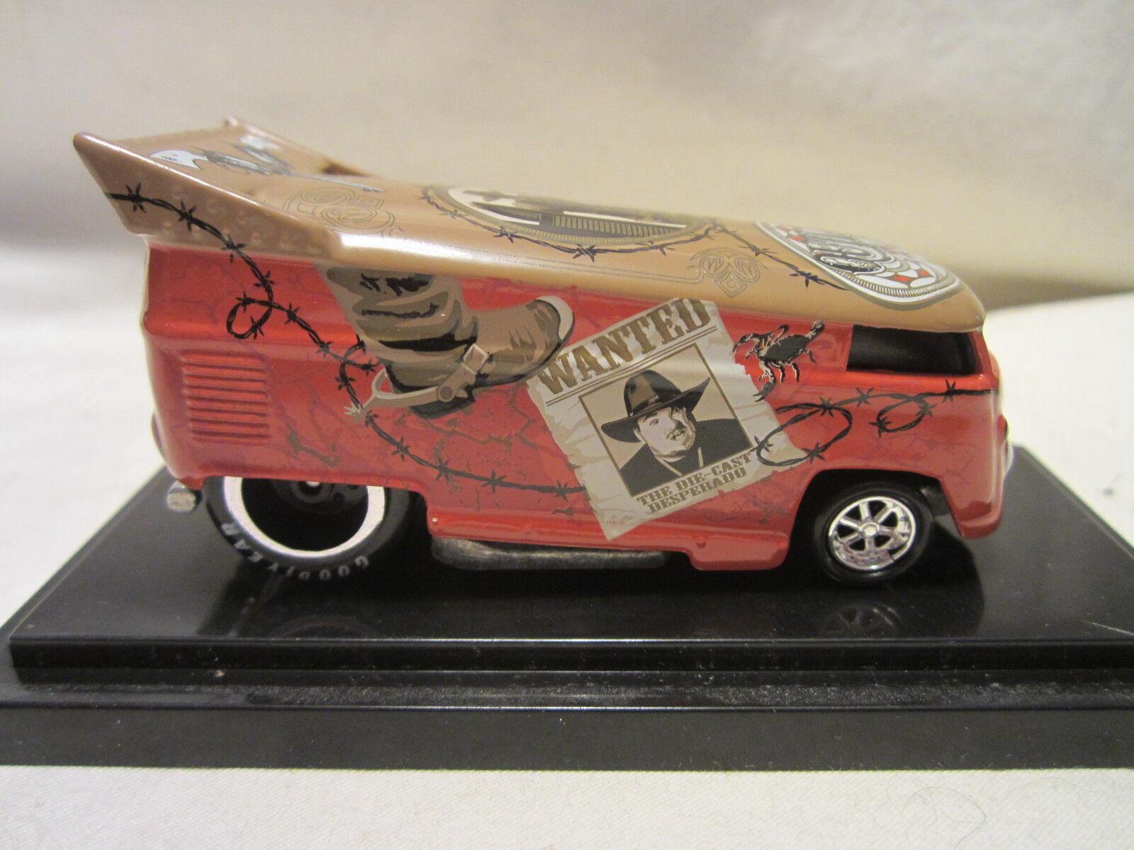 caliente ruedas Liberty Promotions Outlaw con Mug Scalientes VW DROG autobus;528 1000 fatto