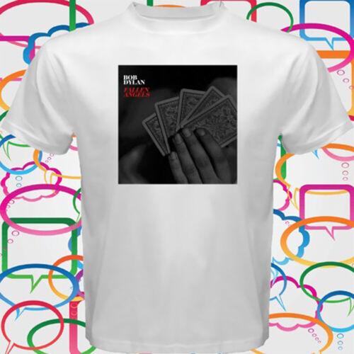 Bob Dylan *Fallen Angels Tour 2017 Men/'s White T-Shirt Size S to 3XL