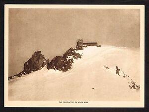 1910s-Antique-Vintage-Meteorology-Monte-Rosa-Observatory-Photo-Gravure-Print
