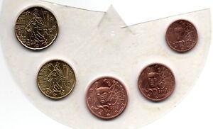1 2 5 10 Et 20 Cents France 2010 Scéllés Sous Plastique Bu Convient Aux Hommes Et Aux Femmes De Tous âGes En Toutes Saisons