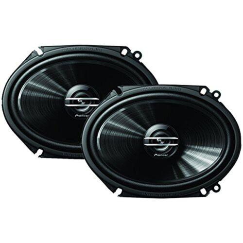 """Pioneer G-Series Car Audio 6x8/"""" 250 Watt 2-Way Car Speakers Pair"""