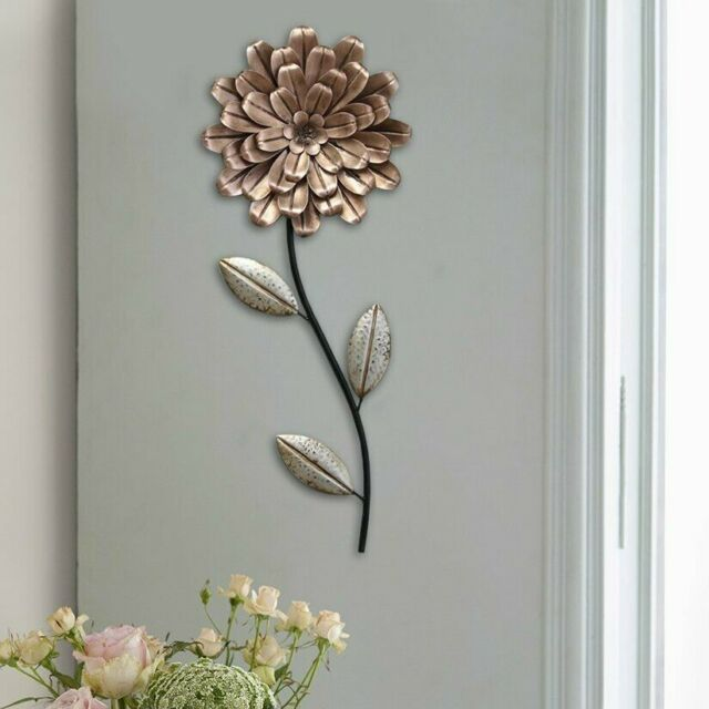 Metal Wall Art Circle Mirror Modern Hanging Abstract Sculpture Home Accent Decor For Sale Online Ebay