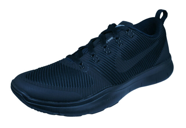 Versatility Running Free Nike Plain Fitness Black Train Gym Sneakers Mens Shoes qzLSpVGUM