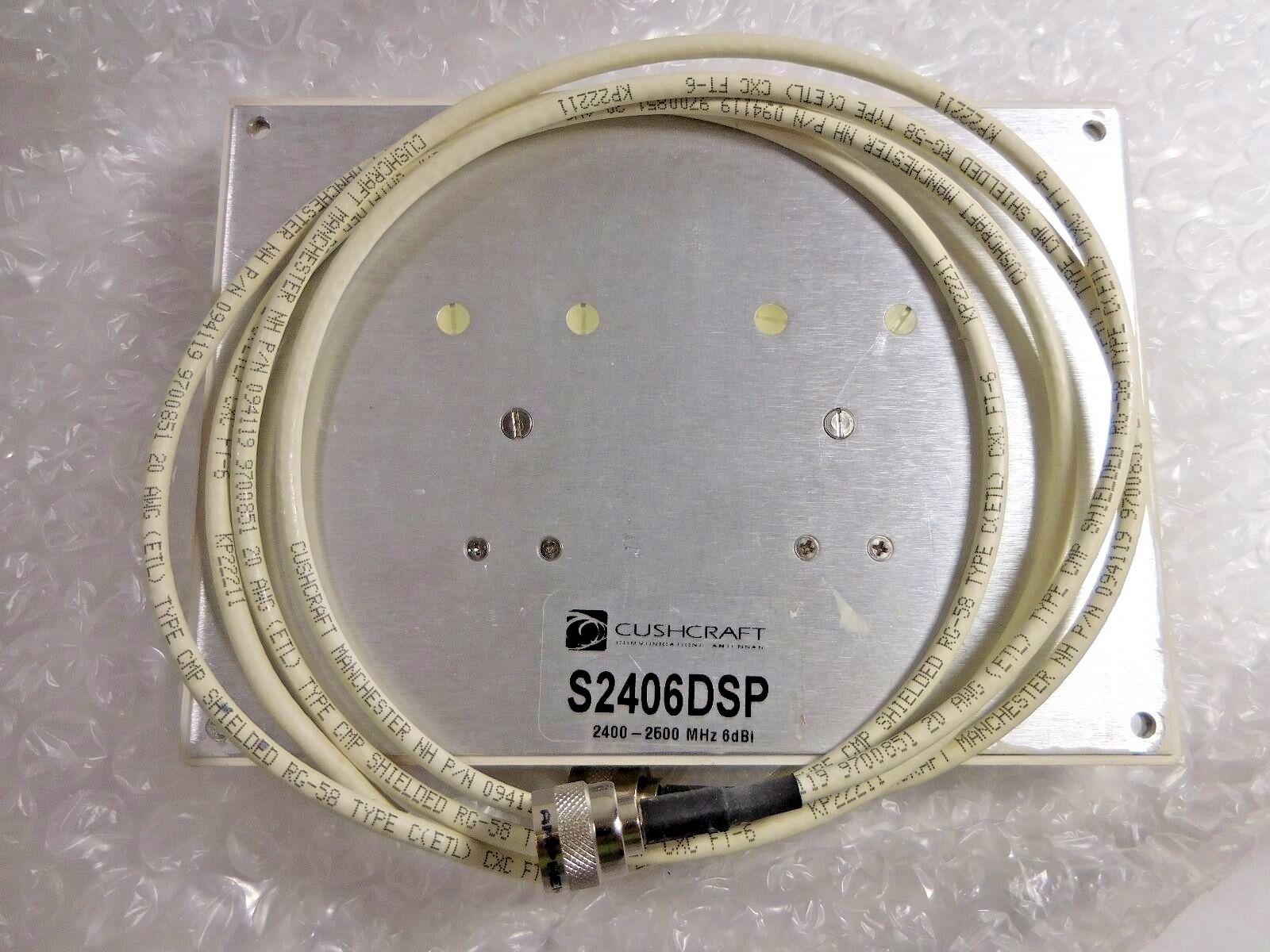 Cushcraft S2406DSP36RTN 2400-2500 MHz 6dBI Patch Antenna