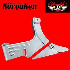 Kuryakyn Chrome Lower Belt Guard Accent for 99-'14 Road Star 1600/1700 8663