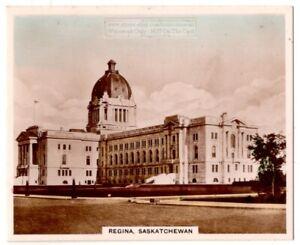 Provincial-Legislature-Building-Regina-Saskatchewan-Canada-1930s-Trade-Ad-Card