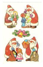 Abziehbilder Schiebebilder WEIHNACHTEN Kinder Weihnachtsmann, DDR SB 1 17055