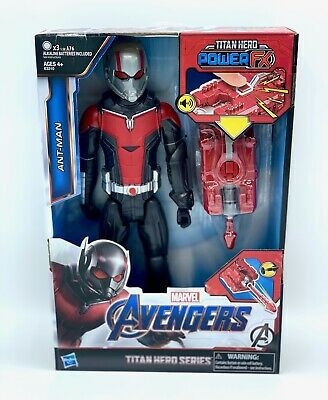 Marvel Ant-Man and The Wasp Titan Hero Series Ant-Man with Titan Hero Power F...